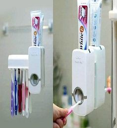 Toothbrush with Toothpaste Dispenser