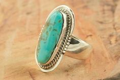 Turquoise Mountain Mine Ring