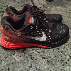 New Nike Lunarglide 7 flyknit women's running shoe NO TRADES... Brand new no box ... Women's size 8.5 Nike Shoes Athletic Shoes