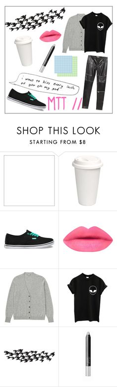 """""""METTATON // UNDERSWAP UNDERTALE"""" by pencilcase000 ❤ liked on Polyvore featuring Vans, Uniqlo, Universal Lighting and Decor, NARS Cosmetics and Zara"""