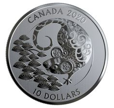Pure Silver Coin - Year of the Rat Silver Coins For Sale, Hole In The Sky, David Suzuki, Lucky Symbols, Creation Myth, Coin Design, Chinese Zodiac Signs, Year Of The Rat, Effigy