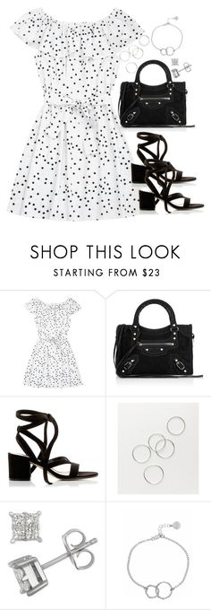 """""""Untitled #5166"""" by theeuropeancloset ❤ liked on Polyvore featuring Balenciaga, Gianvito Rossi and Chupi"""