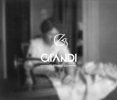 Giandi clothing CO - logo design by Cursor Design, via Behance Logo Design, Graphic Design, Photography Branding, Monogram Logo, Clothing Co, Fashion Company, Logo Branding, Identity, Typography