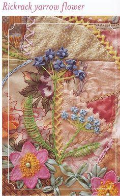 Rickrack Yarrow Flowers