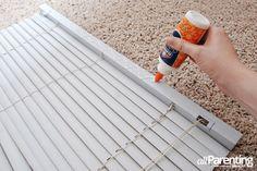 allParenting DIY Roman shade step 10