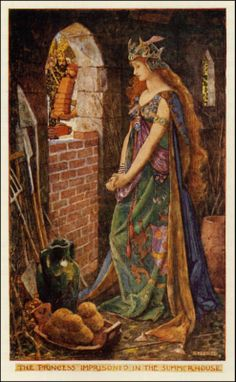 The Magic Book - The Orange Fairy Book by Andrew Lang, 1906