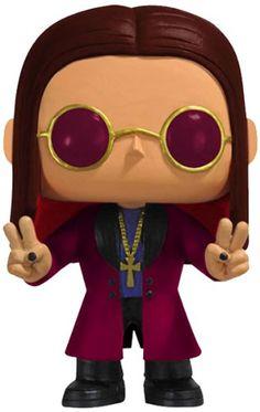 Funko Ozzy Osbourne Pop Rocks Funko Pop Rock Ozzy Osbourne Vinyl FigureThis Pop Rock Ozzy Osbourne vinyl figure has a rotating head and comes in a displayable Ozzy Osbourne, Pop Rocks, Rock N Roll, Funko Pop Dolls, Pop Goes The Weasel, Pop Figurine, Funko Figures, Pop Collection, Kawaii