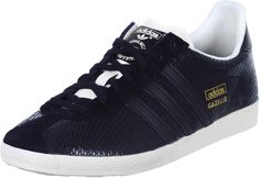 low priced 844bd 65d68 Adidas Gazelle OG W chaussures blackgold