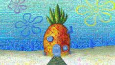Wallpaper Spongebob Squarepants, Cartoon, Pineapple • Wallpaper For You HD Wallpaper For Desktop & Mobile