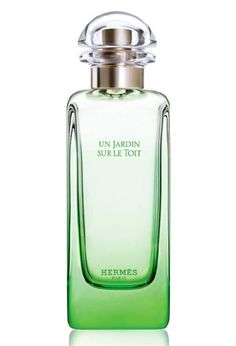 Un Jardin Sur Le Toit Hermes for women and men - Super fresh and grassy green at first, then dries down to a long-lasting, very clean and citrusy rose. Might be my favorite rose so far! Glorious under the hot sun...