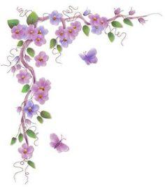 gifs de barra de flores - Pesquisa Google
