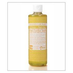 Nada huele tan fresco como el aroma del aceite cítrico orgánico del Jabon Liquido Natural de Castilla de Dr Bronner Citrico Naranja. http://belleza.tutunca.es/jabon-citrico-naranja-liquido-natural-de-castilla-dr-bronner-473ml