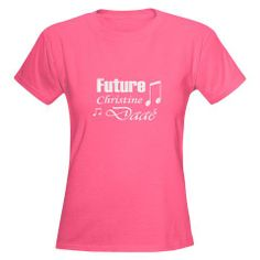 """This is the shirt Taylor wants for Christmas since she LOVES Phantom of the Opera!  She basically said that she wants anything on this website, especially if it says, """"I can't. I have rehearsal"""" on it."""