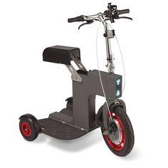 The Foldaway Electric Chariot - Hammacher Schlemmer