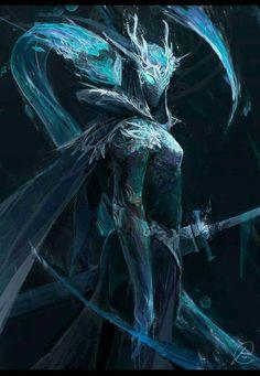 """wearepaladin: """"ice knight by holyman57 on DeviantArt """""""