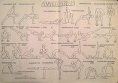 Krishnamacharya's Ashtanga Vinyasa yoga (at home ) in Rethymnon: Old Illustrations ( Cheat Sheets) of Ashtanga Series