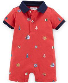 Ralph Lauren Baby Boys' Graphic Shortall - Baby Boy (0-24 months) - Kids & Baby - Macy's