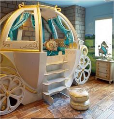 Cinderella kids room