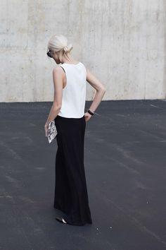 baggy luxe | aritzia top | palazzo pants #minimalist