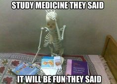 Medical students can relate…