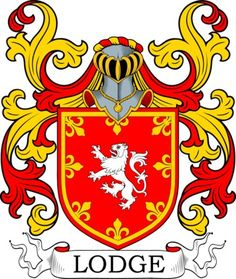 Lodge Coat of Arms Meanings and Family Crest Artwork