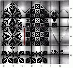 30 Patrones de Mitones Jackard Fingerless Mittens, Knit Mittens, Knitted Gloves, Knitting Socks, Crochet Mittens Free Pattern, Crochet Motif, Knitting Charts, Knitting Patterns, Chart Design