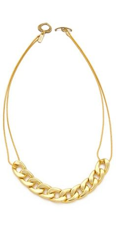 Vanessa Mooney Chunky Chain Necklace Great for everyday and layering