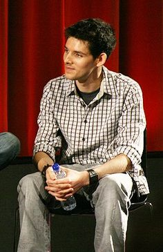 Colin Morgan <3 Im not sure if I like him clean shaved or him with a little scruff.<--Answer? Both.