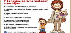 7 Consejos para no malcriar a tus hijos Portada