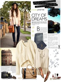 """""""city of dreams.."""" by charmingt ❤ liked on Polyvore"""