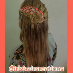 Lace braid with ribbons