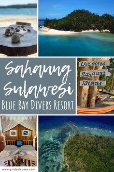 Blue Bay Divers Resort Sahaung Island Tauchen in Sulawesi Jimbaran Bali, Ubud, Bangka, Koh Tao, Snorkeling, Southeast Asia, Trekking, Places To See, Island