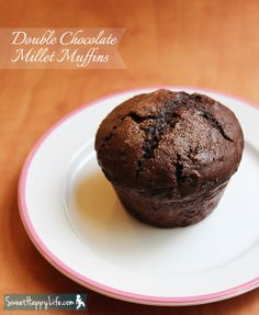 Double Chocolate Millet Muffins- Made these- even my no-health food parents got excited.  And I got to use my huge stash of cocoa powder.