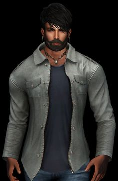 https://flic.kr/p/PC56eb | !BBN! Epaulet Shirt with Tee Light TXT_001 | New !BBN! Twinpack Epaulet Shirt - 5 Colours and a Superb HUD set sold separately - @ maps.secondlife.com/secondlife/Sirtony/208/187/116