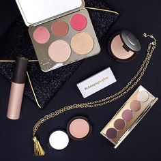 Friday night out with the BECCA x Jaclyn Hill Champagne Collection: Including Limited Edition Face Palette, Limited Edition Eyeshadow Palette, and Shimmering Skin Perfector Champagne Pop in Liquid, Poured Crème, and Pressed. Available on Sephora.com & Sephora.ca on 5/26 9am PST and in stores on 6/16! #champagneglow #BECCAxJaclynHill