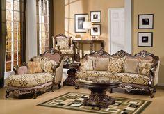 Elegant Luxury Victorian Furniture Style