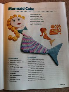 Hey Natalie Vedder check out this  Mermaid cake