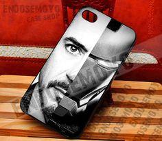 Robert Downey Jr Iron Man  iPhone 4/4s/5/5s/5c Case  by EndoSemoyo, $15.00