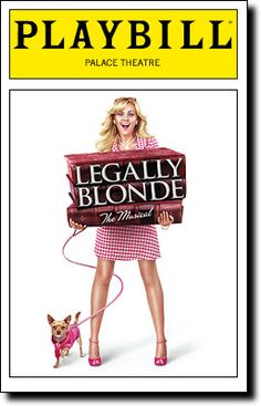 "My aunt  I watched the MTV series to find a ""new"" Elle Woods for Broadway-- Then we got to go see it!! I thought it'd be a bit cheesey, but it was a GREAT performance-  it didn't hurt that we had 2nd row seats!"