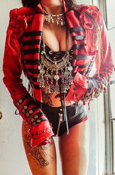 new toxic vision Metal Fashion, Punk Fashion, Leather Fashion, Womens Fashion, Alternative Mode, Alternative Fashion, Sexy Outfits, Fashion Outfits, Lolita Cosplay
