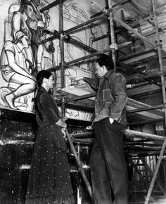 1000 images about diego rivera photo album on pinterest for Diego rivera mural new york rockefeller