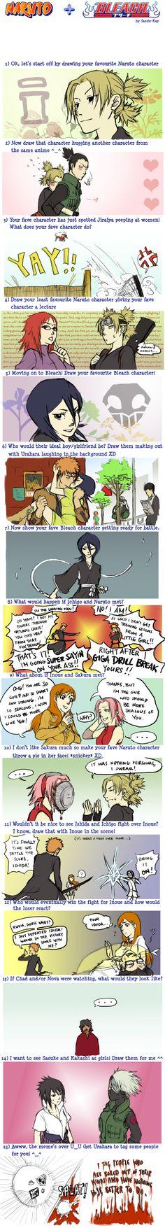 Naruto and Bleach