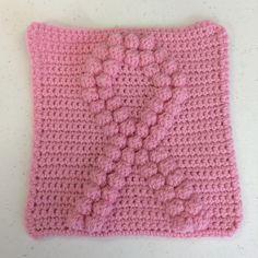 Ribbons pattern free pattern patterns and crochet free crochet patterns for breast cancer breast cancer awareness ribbon square free pattern dt1010fo