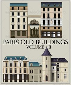 Vector Set: Six Parisian Old Buildings, Vol II  #GraphicRiver         History of Architecture Six Parisian Old Buildings Volume II   Vector Files Based on an old Lithography by Jourdan.   File types: .ai (for adobe illustrator cs5 and cs) .eps (for illustrator 10) .psd (for adobe Photoshop) .png (with transparency)     Created: 14November12 GraphicsFilesIncluded: PhotoshopPSD #TransparentPNG #VectorEPS #AIIllustrator Layered: Yes MinimumAdobeCSVersion: CS Tags: ancien #architecture…