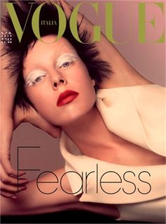 Fearless by Steven Meisel, April 2013 Vogue Italia