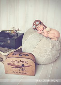 Aviator Set Daily Rental #aviator #plane #baby #photo
