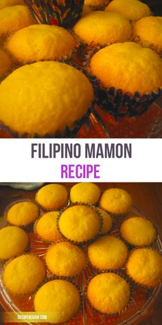 Mamon itself is a very soft cake that is typically sold in bakeries or even in fast-food chains specializing in Filipino cuisine.