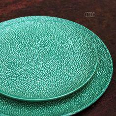 """""""Jaglany"""" round ceramic plates from MLY Studio Ceramics by DaWanda.com"""