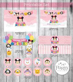 Disney Tsum Tsum Printable Set Digital Copy by Partyprintkk