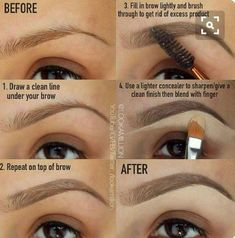 This tip has your name on it The easy way to the perfect brow! #summervibes